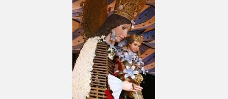Fallas 2014. Virgen de los Desamparados