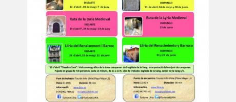Llíria, Sinfonía de Culturas. Visitas guiadas temáticas