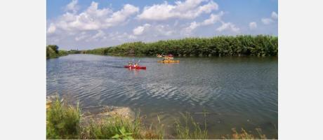 Cullera en Kayak