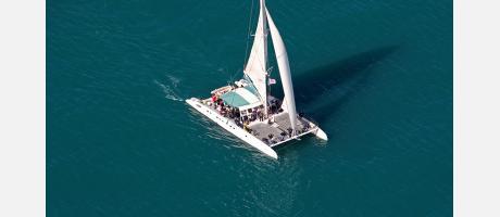 Catamarán con Marco Polo Expediciones
