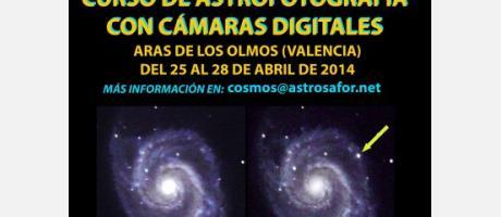 Curso de Astrofotografía con Camaras Digitales