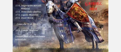 VI Feria Medieval en Gaibiel