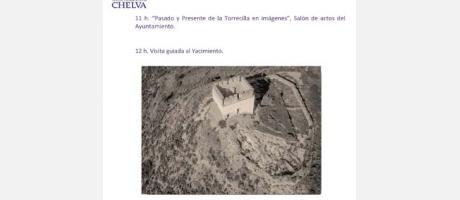 JORNADA- YACIMIENTO ARQUEOLOGICO DE LA TORRECILLE CHELVA 2014