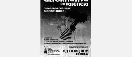 Cartel de la Feria Alternativa de Valencia