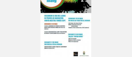 Agenda cultural El Verger MAYO 2014