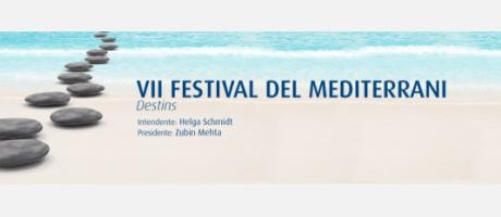 Imagen de la portada del VII Festival del Mediterrani