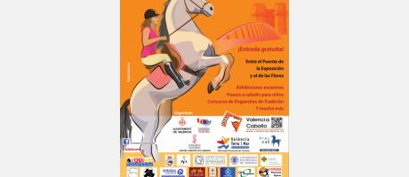 Cartel de ValenciaCaballo 2014