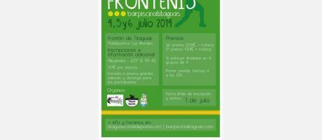 I TROFEO FRONTENIS barpiscinatitaguas 4,5 y 6