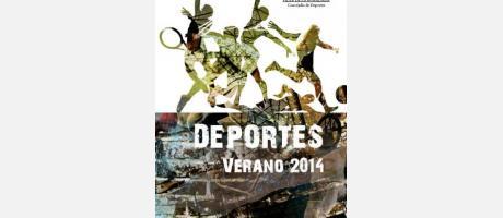 Cartel Deportes Verano 2014 Pilar de la Horadada