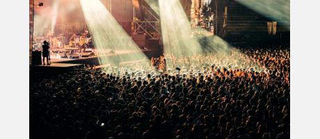 Imagen de un concierto de 2013