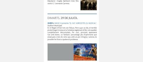 Programa Fiestas Patronales y de Moros y Cristianos Aielo de Malferit 2014