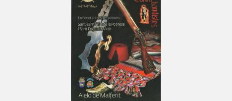 Cartel de las fiestas de Aielo de Malferit