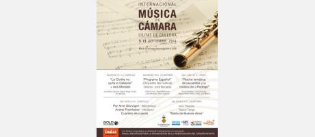III Festival Internacional de Música de Cámara2014
