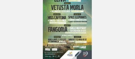 Conciertos de la Volvo Ocean Race