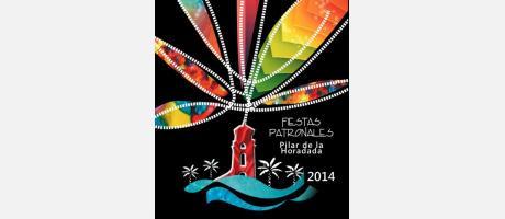 Cartel Fiestas Patronales Pilar de la Horadada 2014