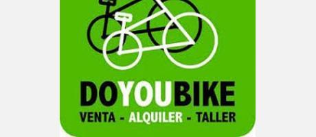 Logo de Doyoubike. Alquiler de bicicletas