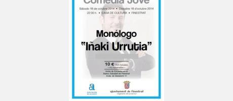 Monólogo Iñaki Urrutia