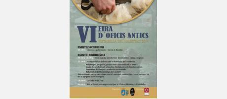 Cartel de la Feria de Oficios Antiguos