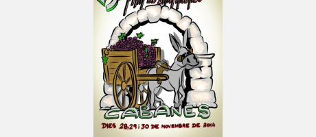 """Cartel Feria de """"Sant Andreu"""" en Cabanes"""