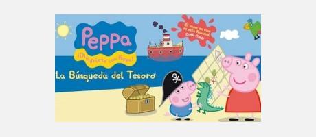 Cartel del Espectáculo de Peppa Pig en el Teatro Olimpia