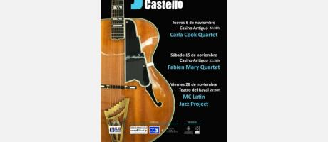 """Cartel """"Jazz a Castelló"""" 2014"""