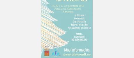 cartel feria de navidad 2014 en Almoradí