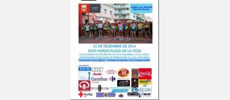 Cartel San Silvestre 2014