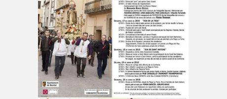 Cartel Sant Antoni Borriol 2015