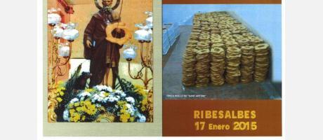 Cartel San Antonio Ribesalbes 2015