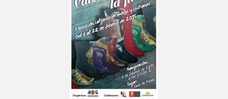 Cartel exposición calzado moros y cristianos