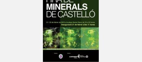 Fira de minerals de Castelló