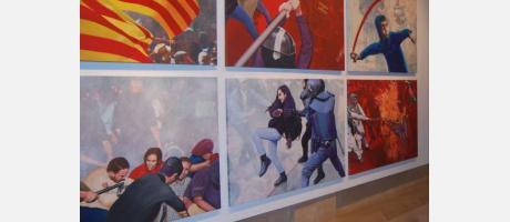 La visión social de Miró en seis imágenes