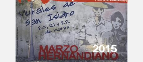 Cartel IV edición Murales de San Isidro