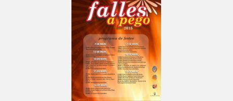 Cartel de Fallas de Pego 2015