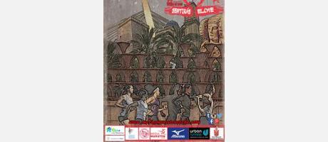 cartel de la media maraton