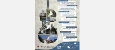El cartel del ciclo de conciertos