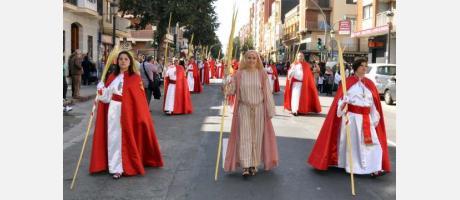 La procesión de las palmas
