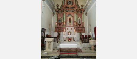 Altar Iglesia Sant Bertomeu.