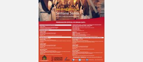 Programación especial Semana Santa 2015
