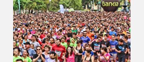 Más de veinte mil corredores