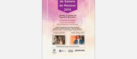 cartel anunciador X Mostra de Sainets de Manises 2015