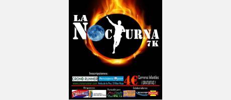 "Cartel ""La nocturna"" 7k"