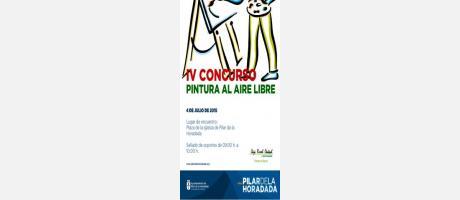 Cartel del Concurso de Pintura al Aire Libre de Pilar de la Horadada