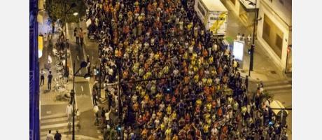 participación 15K Nocturna Valencia 2014