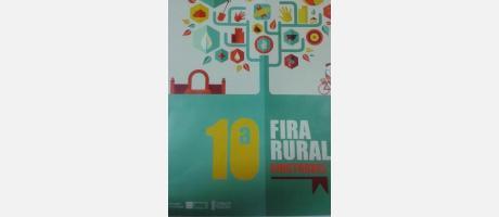 Folleto de la X Feria Rural en Cinctorres