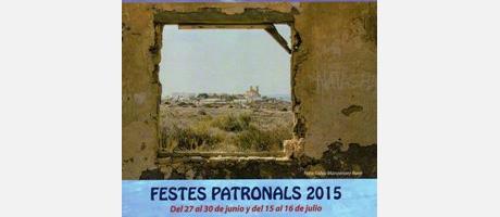 Programa Fiestas Patronales Isla de Tabarca 2015 Festividad de San Pedro y San P