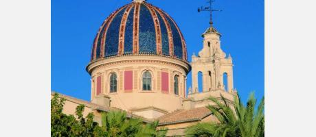 Imagen de la cúpula de la iglesia de Sueca