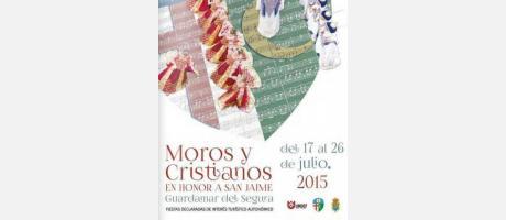 Cartel Moros y Cristianos Guardamar 2015