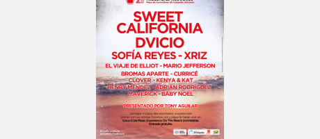 Coca-Cola Music Experience On The Beach El Campello