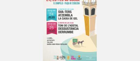 Fireta Sant Jaume 2015 en El Campello